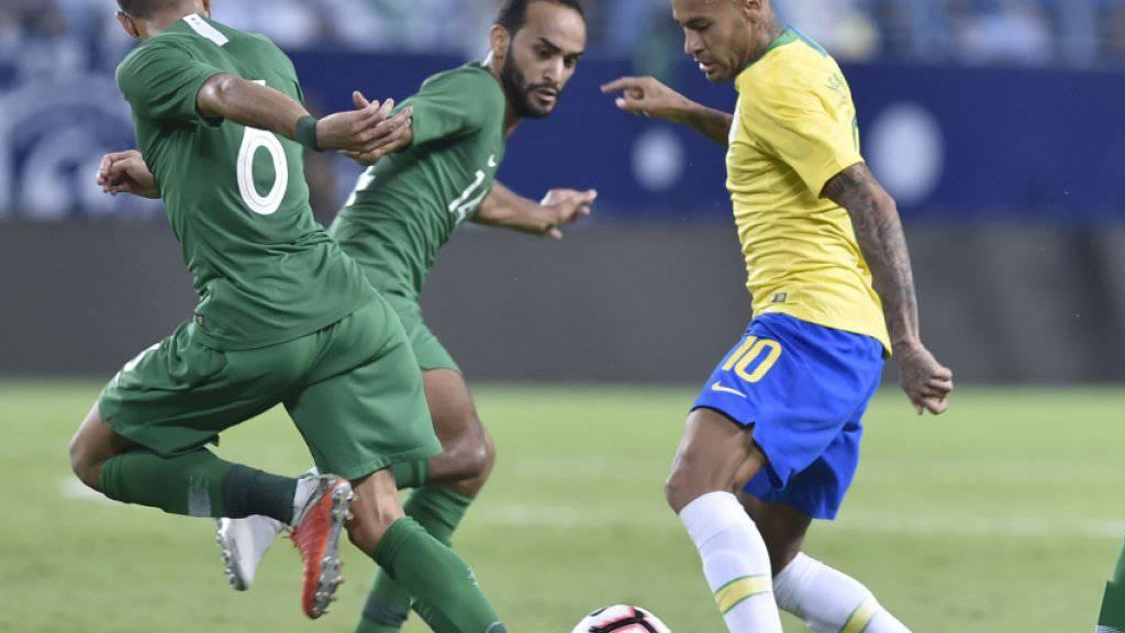 Auffälligster Akteur in Riad: Neymar spielt mit den Saudis Katz und Maus