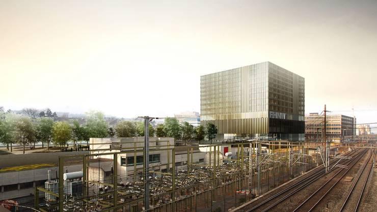 300 Millionen Franken soll der Neubau der FHNW in Muttenz kosten