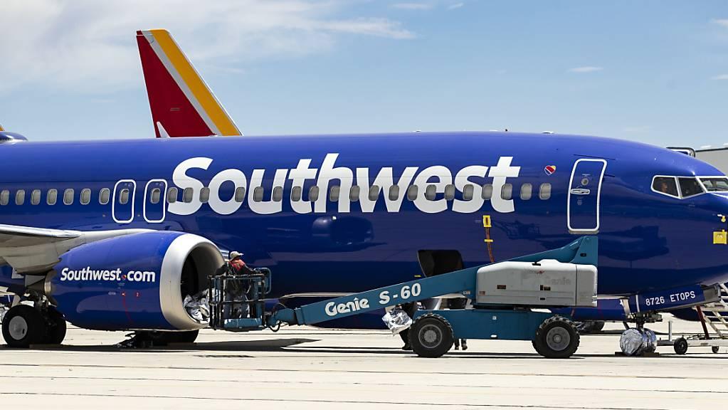 Risse an Boeing-Jets - US-Airline zieht zwei 737 NG aus dem Verkehr. (Archiv)
