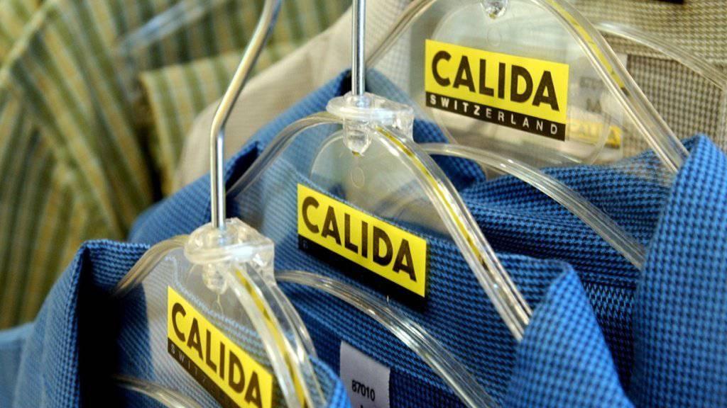 Kleider der Marke Calida verkaufen sich besser als auch schon. (Archiv)