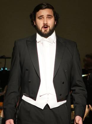 Der 24-jährige Omer Kobiljak mit seiner lyrischen Tenorstimme.