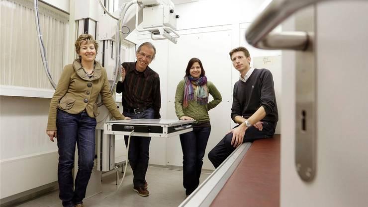 Künftig ein Team: Katharina und Christoph Cina, Claudia Engesser und Christoph Rey (v.l.).