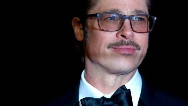 """Brad Pitt an der """"Fury""""-Premiere im Oktober in London"""
