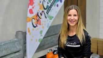 Die 31-jährige Sue Laubscher lanciert ein neues Fitnessangebot.