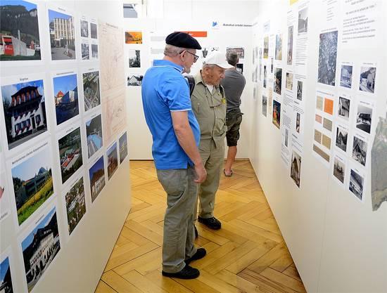 Immer wieder gern gesehen: die verlockenden Fotoausstellung im Bürgerhaus.