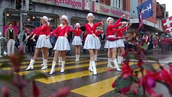 Verschiedene Formationen traten zu Ehren der Stadtjugendmusik Dietikon auf, wie auf die Majoretten Swiss-Life aus Zürich.
