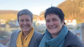Amanda Sager-Lenherr und Claudia Hauser (rechts).