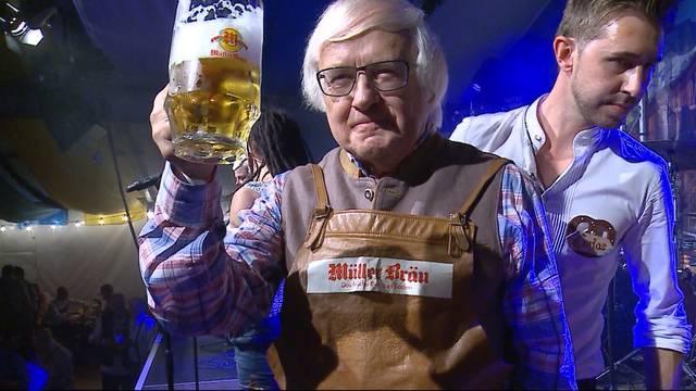 Gilbert Gress eröffnet Badener Oktoberfest