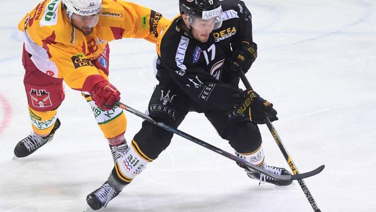 Luganos Luca Fazzini glänzte in Langnau als Doppeltorschütze