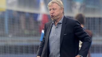 Deutschlands U21-Nationalcoach Horst Hrubesch ist bedient