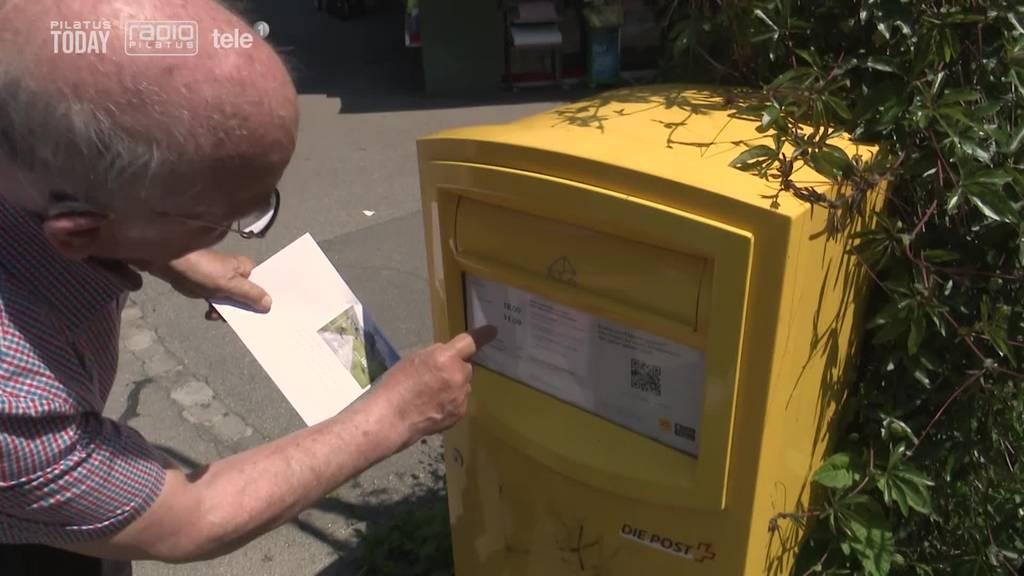 Luzerner wehrt sich gegen frühere Briefkasten-Leerung
