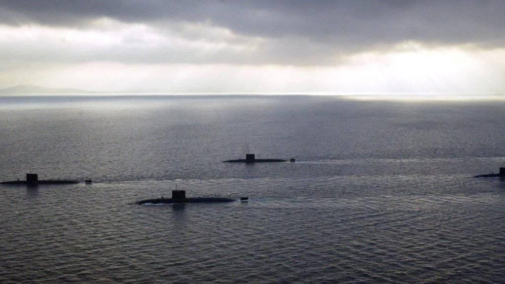 Ein argentinisches U-Boot ist im Südatlantik verschollen. (Archiv)