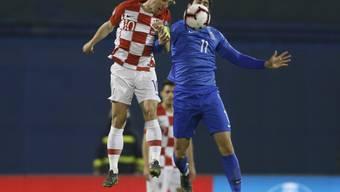 Luka Modric und die Kroaten müssen sich gegen das kleine Aserbaidschan strecken