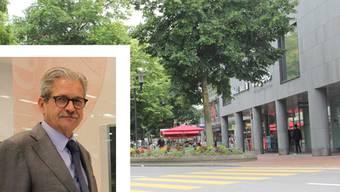 Gäbe es versenkbare Poller wie beispielsweise in Ascona, wäre sein Geschäft nicht von Rammbock-Einbrechern attackiert worden.