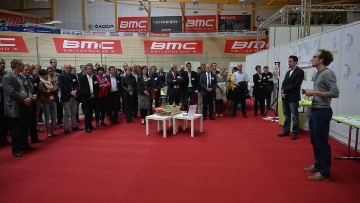 An der offiziellen Eröffnung der Grega zeigte sich Prominenz aus der ganzen Region.