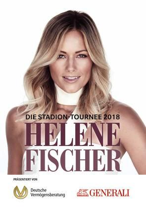 sind offizielle Tourpartner der am 23. Juni beginnenden «Helene Fischer Stadion-Tournee 2018».