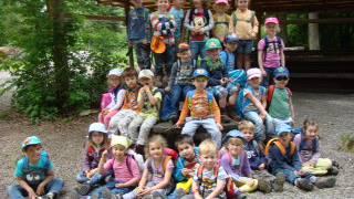 Die stolzen angehenden Kindergärtner aus Würenlingen