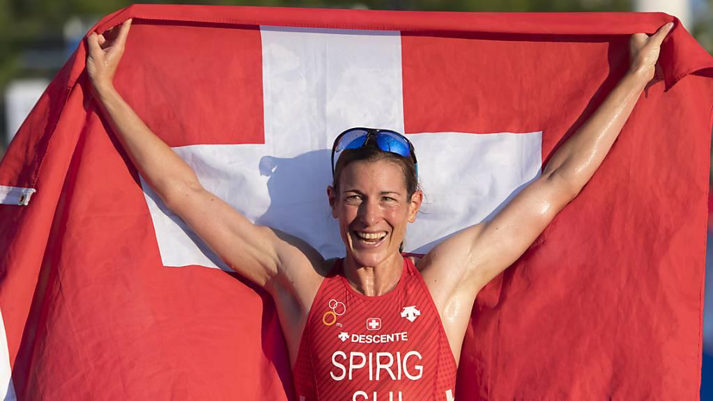 Triathlon-Olympiasiegerin Nicola Spirig wird die Schweiz in Tokio zum fünften Mal an Sommerspielen vertreten