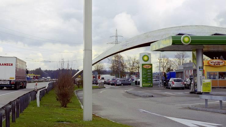 Die Autobahn-Raststätte in Dietingen-Süd. (Archiv)