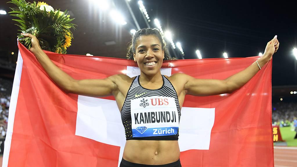 Mujinga Kambundji träumt von einer Olympia-Medaille