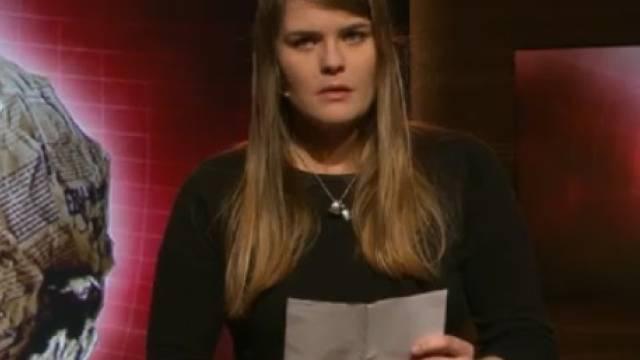"""Hazel Brugger bei """"Giacobbo/Müller"""" (Screenshot SRF)"""