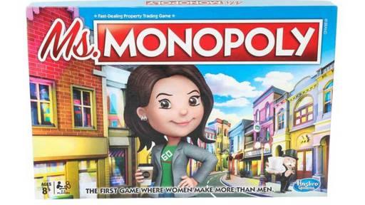 Bei neuem Monopoly-Spiel haben Frauen mehr Geld als Männer