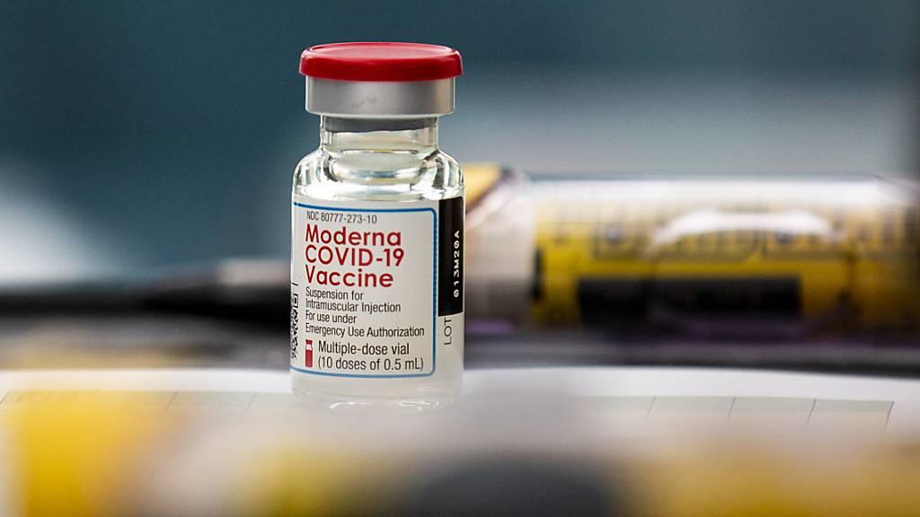 Moderna will 50 Prozent mehr Impfstoff pro Ampulle abfüllen