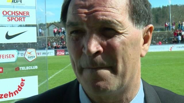 FC Aarau-Trainer Raimondo Ponte im Interview