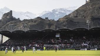 Das Tourbillon in Sion: Hier könnte die Eröffnungsfeier stattfinden