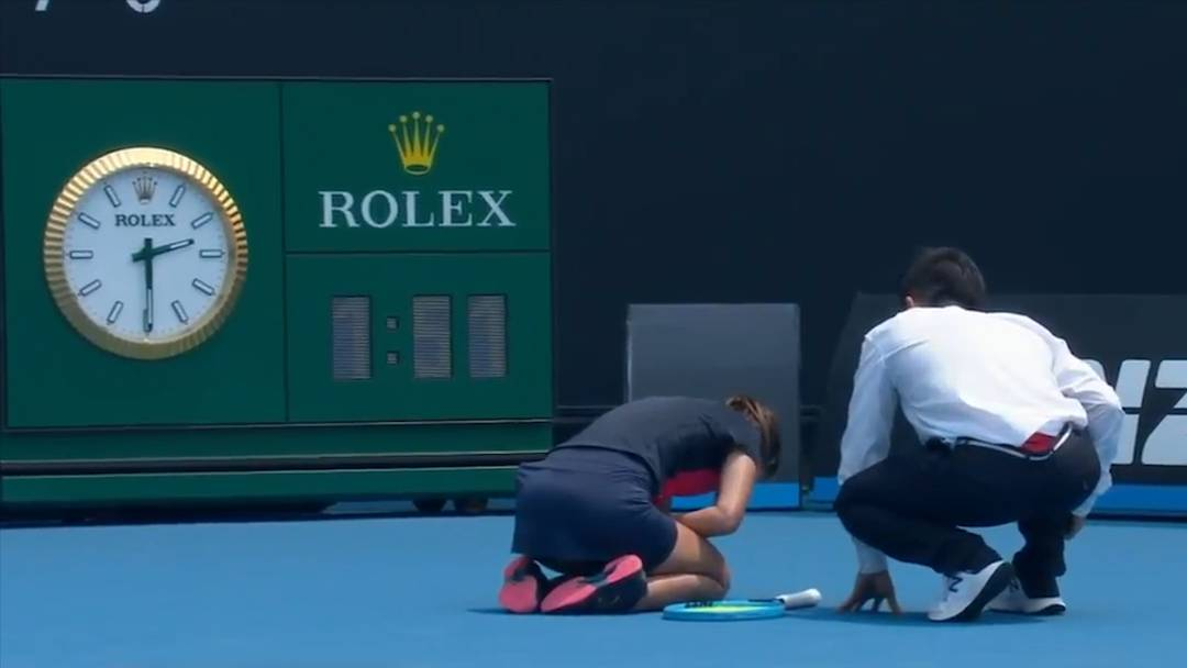Rauch in Melbourne: Luftqualität beeinträchtigt auch Australian Open