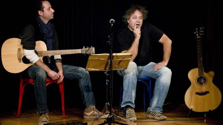 Stefan Baier erzählt im Kellertheater die Geschichte von Till Eulenspiegel: «Narren sagen die Wahrheit».  Fsc