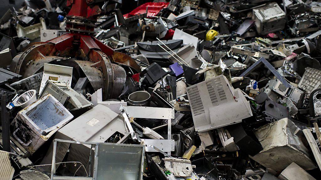 Uno-Bericht: Weltweiter Berg an Elektroschrott wächst stark an