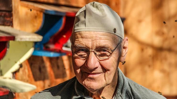 Kaspar Hummel, 80, ist Imker aus Leidenschaft und das seit 51 Jahren.