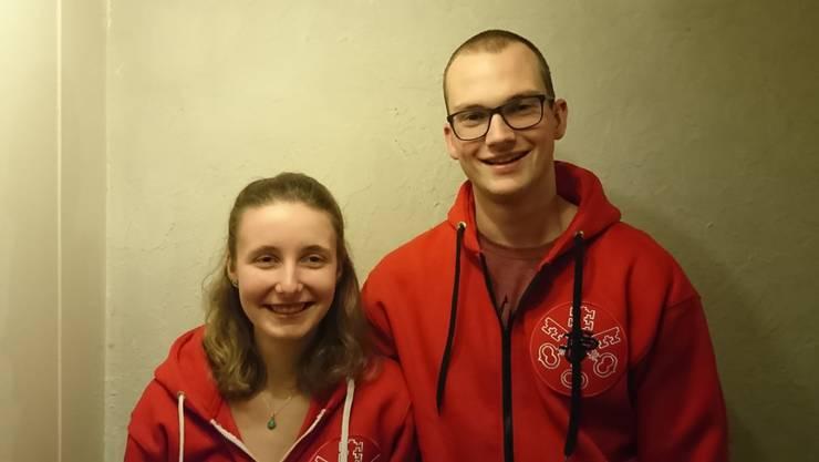Die jungen Leiter der Wirtschaft, Vanessa Zürcher und Ivan Füglister