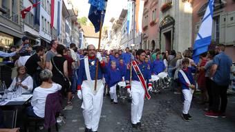 Zapfenstreich am Jugendfest Lenzburg