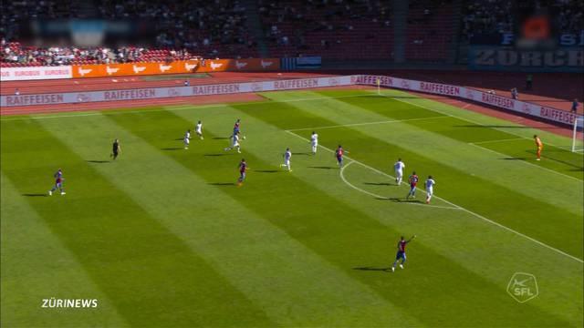 FC Basel: 1:1-Unentschieden gegen FC Zürich