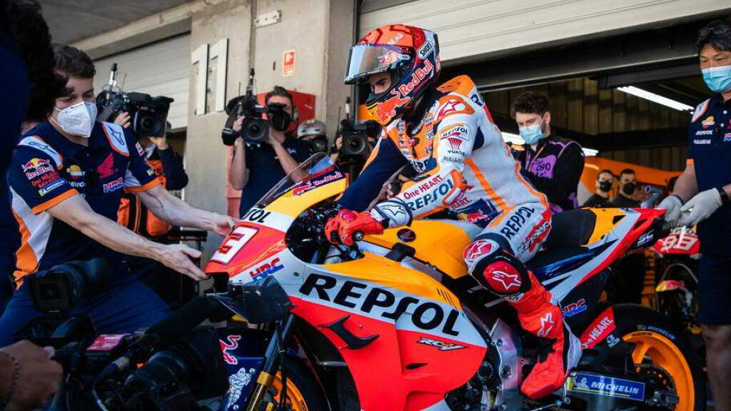 MotoGP-Star Marc Marquez bei Comeback konkurrenzfähig
