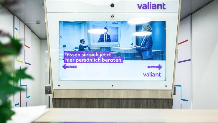 Die Valiant Bank in Basel zieht um. (Themenbild)