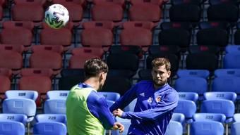 1. FCB-Training nach Corona