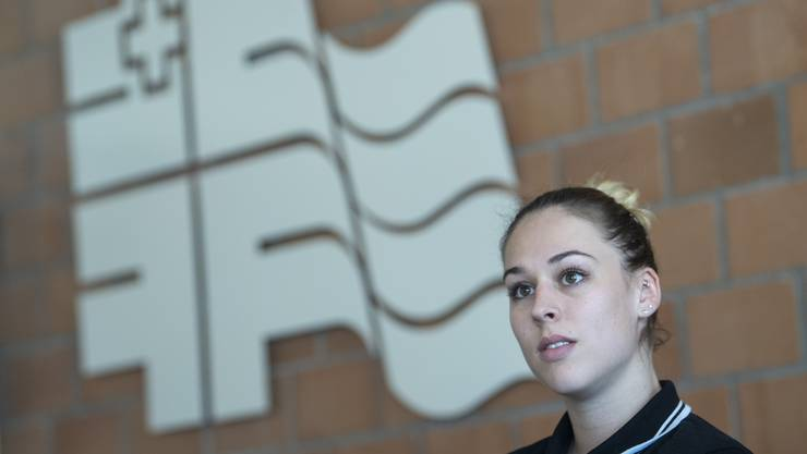 Frisch verliebt und bald zurück nach schwerer Verletzung: Giulia Steingruber.