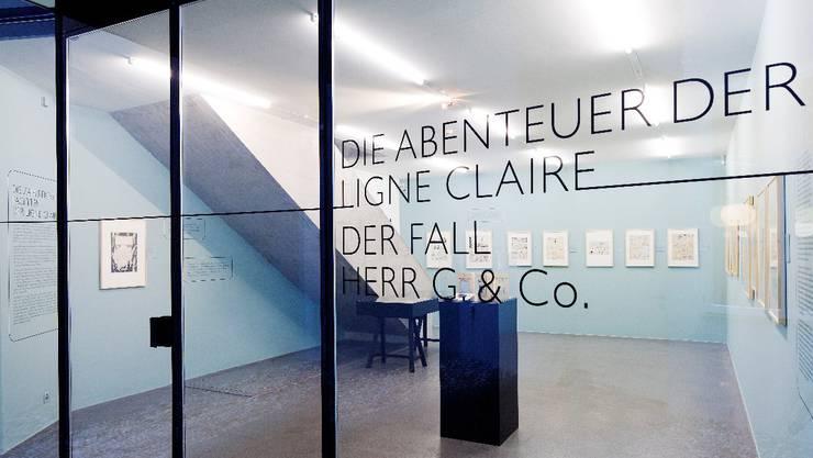 Das Erdgeschoss des Cartoonmuseums Basel
