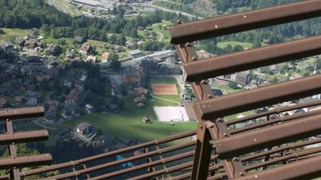 Lawinenschutz oberhalb von Wengen (Symbolbild)