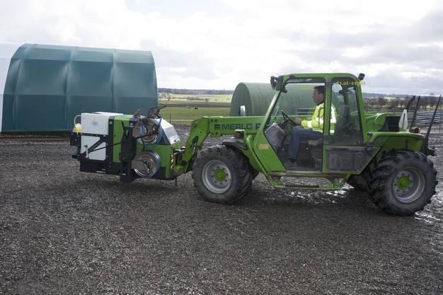 Der Eco Weedkiller kann relativ einfach transportiert werden