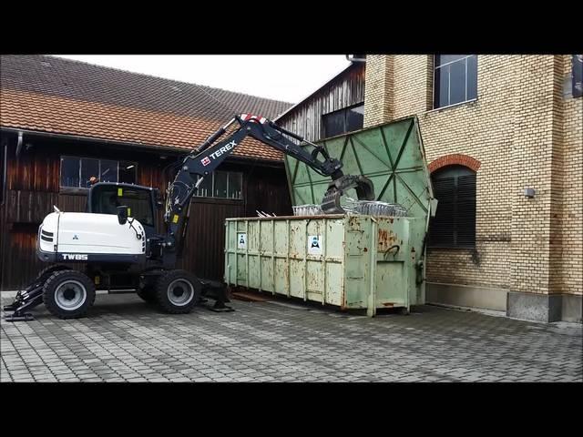 Die Arbeiten beim Schrotthändler sind lärmig – mit ein Grund, warum die Branche aus Zürich verdrängt wird.
