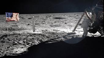 Neil Armstrong betrat 1969 als erster Mensch den Mond.