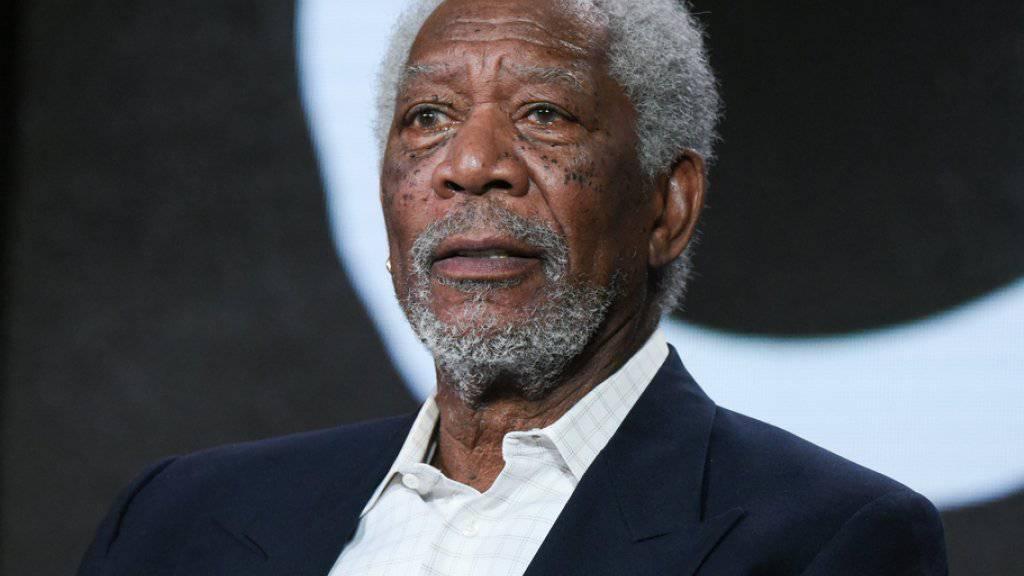 """Er weiss, wie sich die Ausgezeichneten fühlen werden: Morgan Freeman erhielt für """"Million Dollar Baby"""" selber einen Oscar und übergibt in diesem Jahr die Trophäen (Archiv)"""