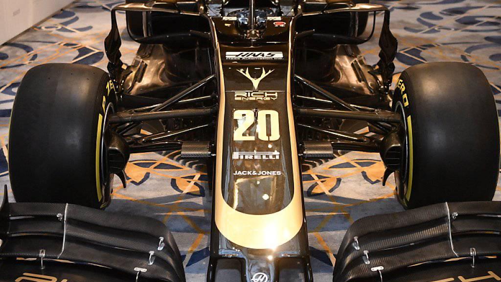 Das Team Haas muss ohne Hauptsponsor Rich Energy auskommen