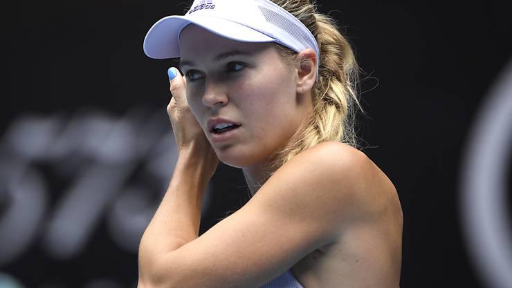 Caroline Wozniacki bestritt ihr letztes Spiel der Karriere in Melbourne