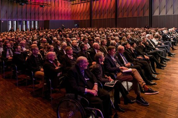 850 Gäste besuchten den «Talk im Trafo».
