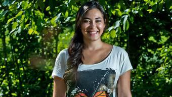 Diana Tejada Zegarra aus Bolivien lebt im Rahmen des international Cultural Youth Exchange ein Jahr in Sarmenstorf. EMANUEL PER FREUDIGER